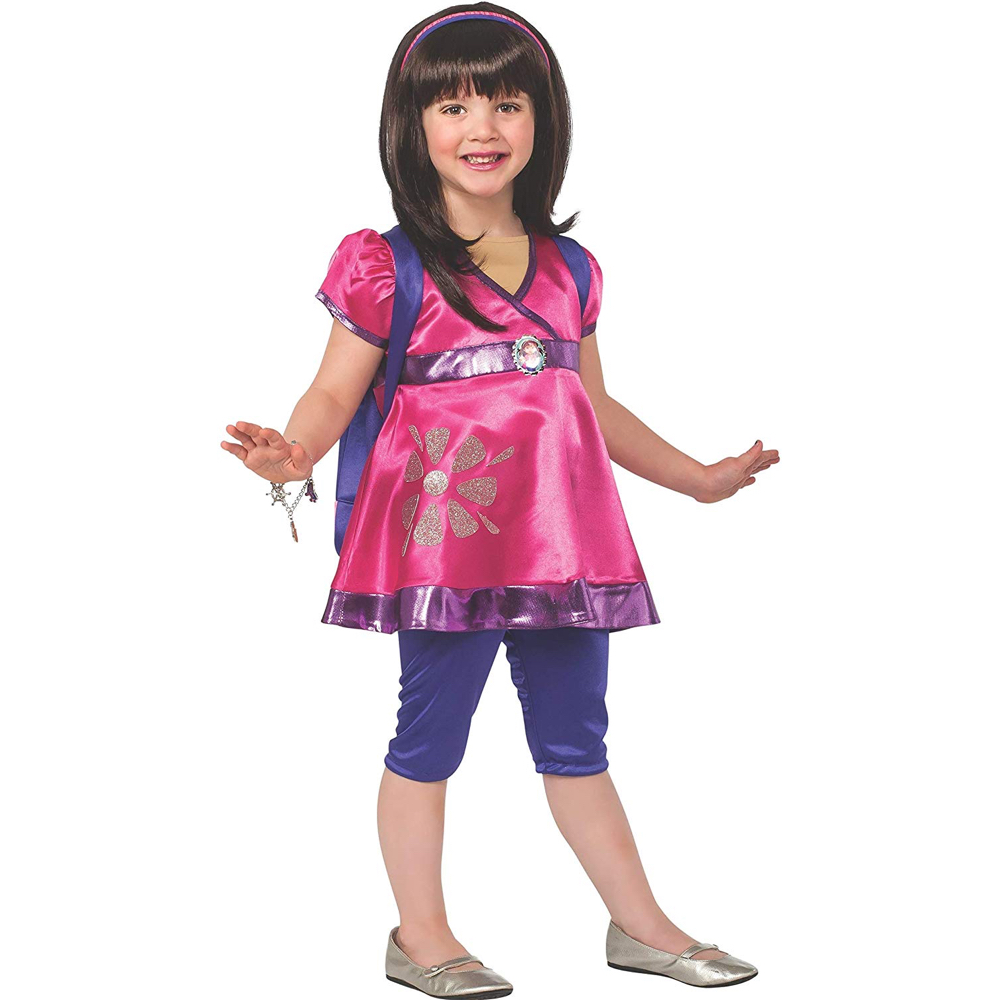 Dora the Explorer Costume - Dora and the Lost City of Gold Fancy Dress - Dora the Explorer Complete Costume