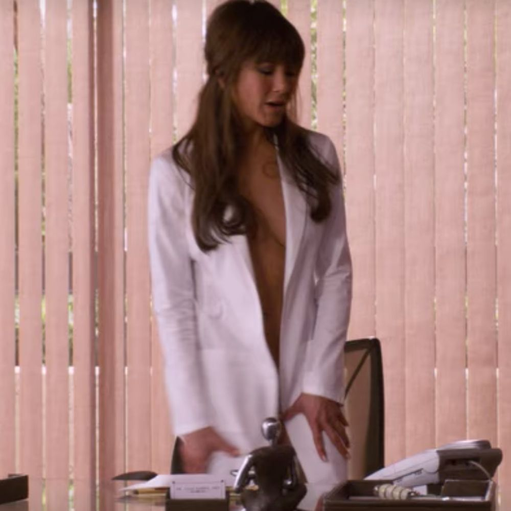 Dr Julia Harris Costume - Horrible Bosses Fancy Dress - Dr Julia Harris Lab Coat