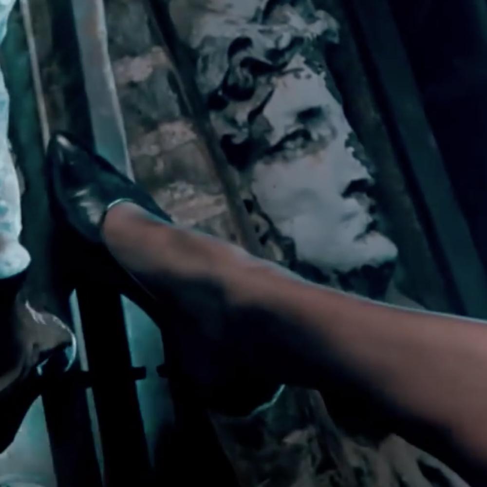 Elizabeth McGraw Costume - Nine and a Half Weeks Fancy Dress - Elizabeth McGraw Garter High Heels - Kim Basinger Legs - Kim Basinger High Heels - Kim Basinger Stockings - Kim Basinger Feet