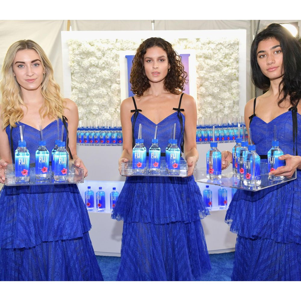 Fiji Water Girl Costume - Fiji Water Girl Fancy Dress - Fiji Water Girl Dress