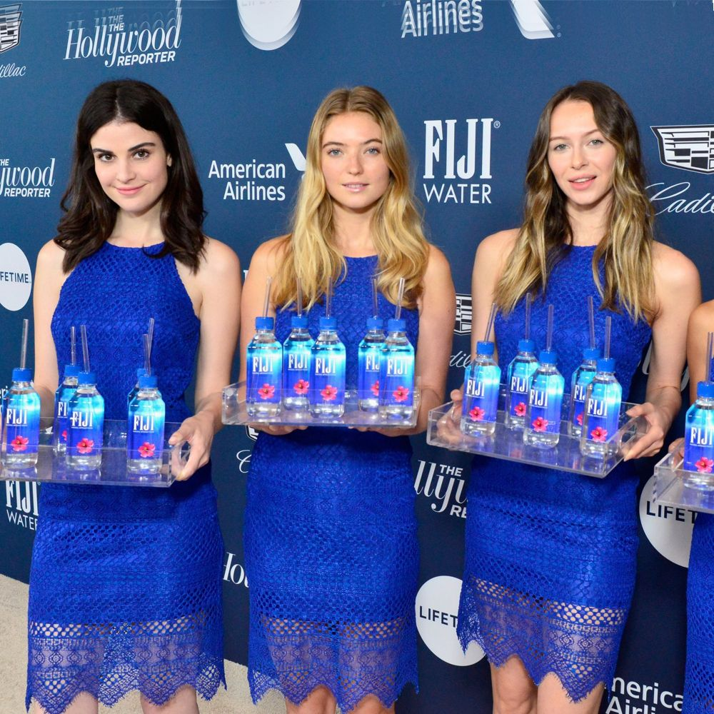 Fiji Water Girl Costume - Fiji Water Girl Fancy Dress - Fiji Water Girl Water