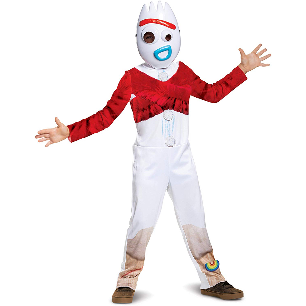Forky Costume - Toy Story 4 Fancy Dress - Forky Complete Costume