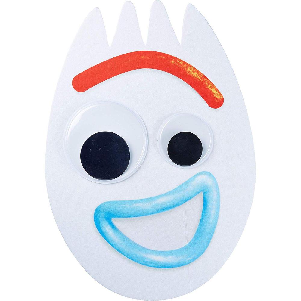 Froky Costume - Toy Story 4 Fancy Dress - Forky Fabric Mask