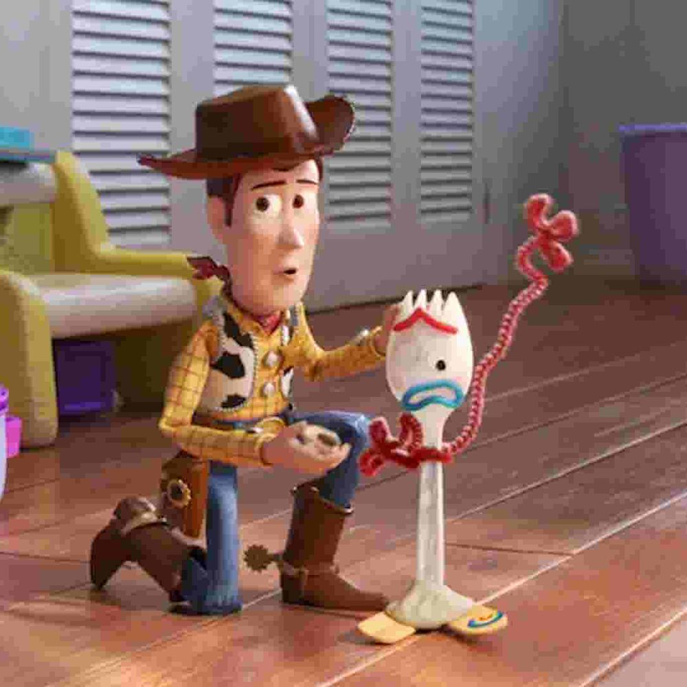 Froky Costume - Toy Story 4 Fancy Dress - Forky Fabric Shirt