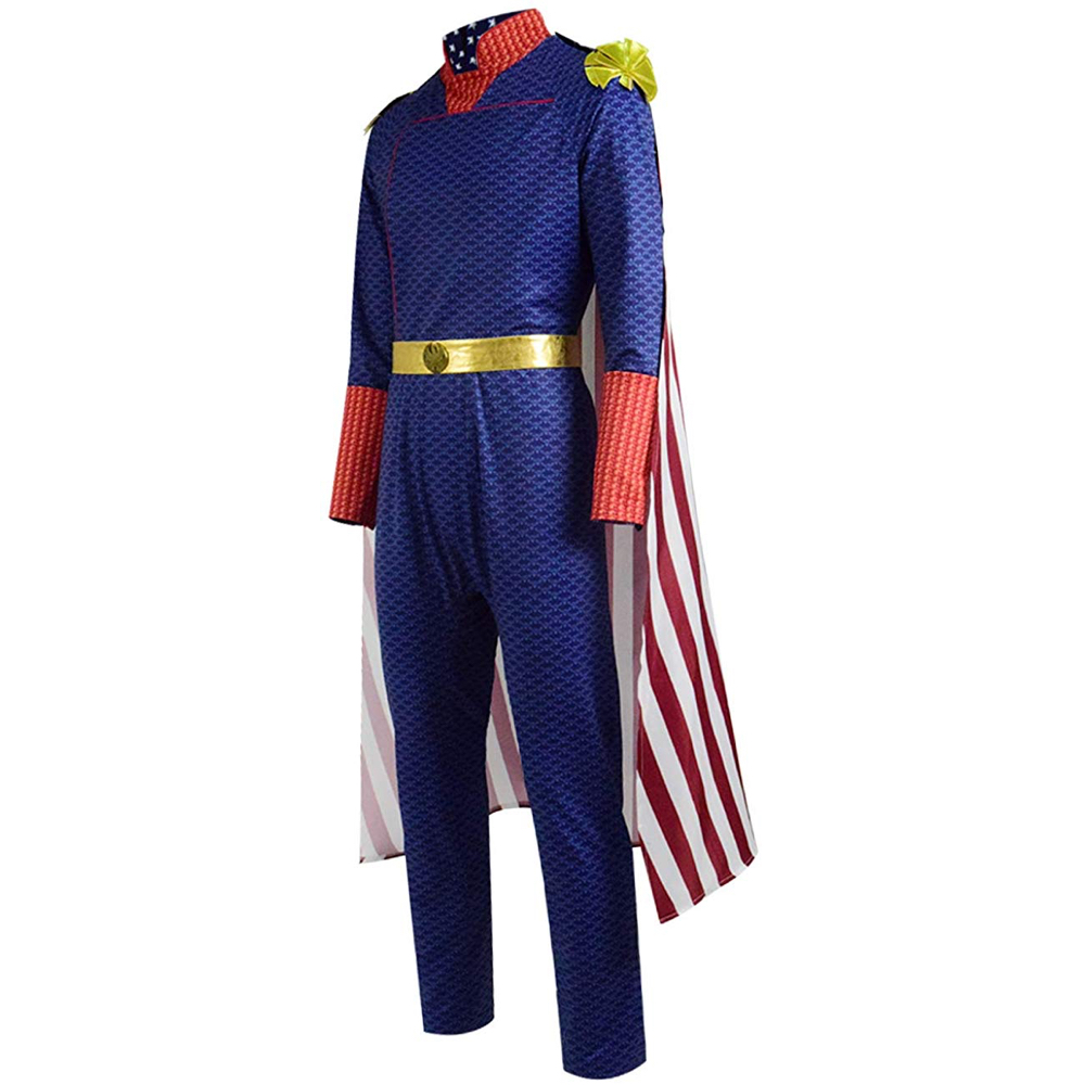 Homelander Costume - The Boys Fancy Dress - Homelander Complete Costume