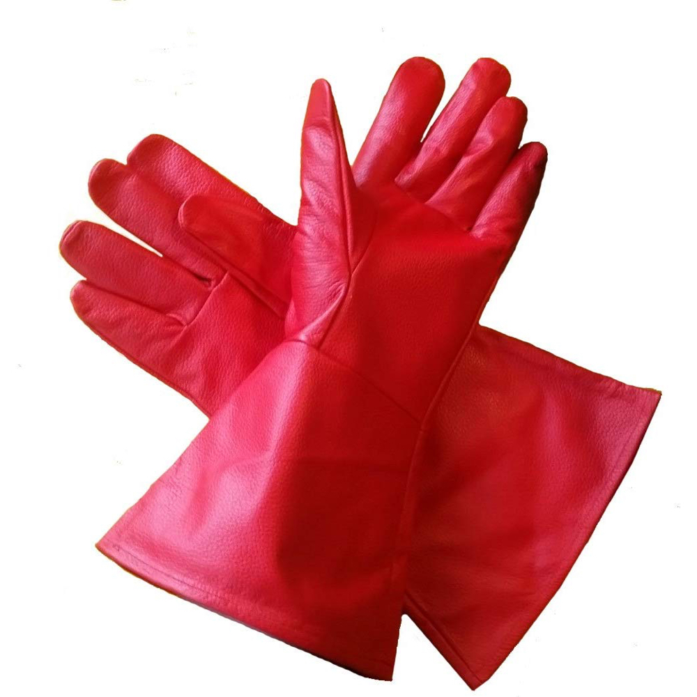 Homelander Costume - The Boys Fancy Dress - Homelander Gloves