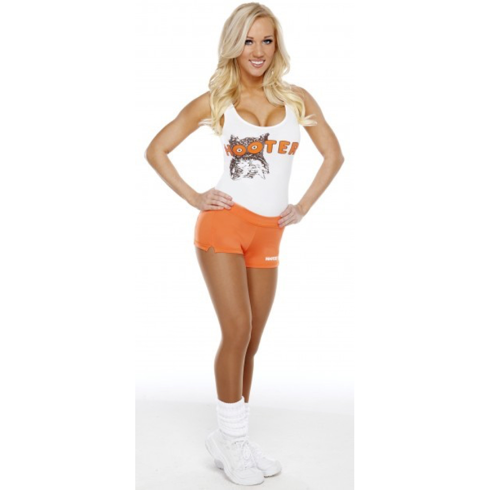 Hooters Girl Costume - Hooters Girl Fancy Dress - Hooters Girl Socks