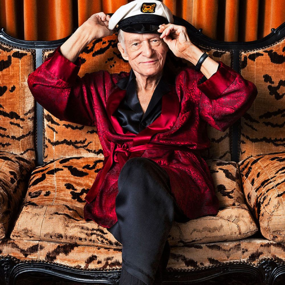 Hugh Hefner Costume - Hugh Hefner Fancy Dress - Hugh Hefner Hat