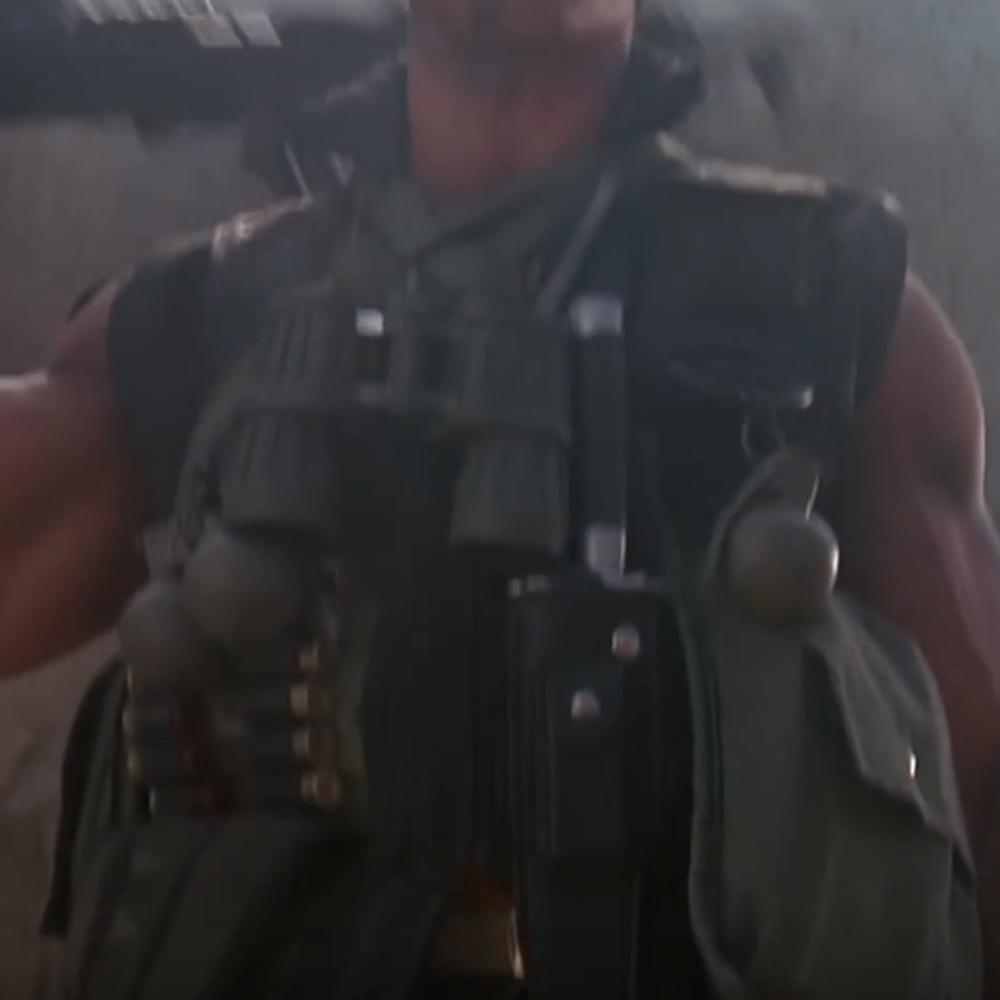John Matrix Costume - Comando Fancy Dress - John Matrix Binoculars