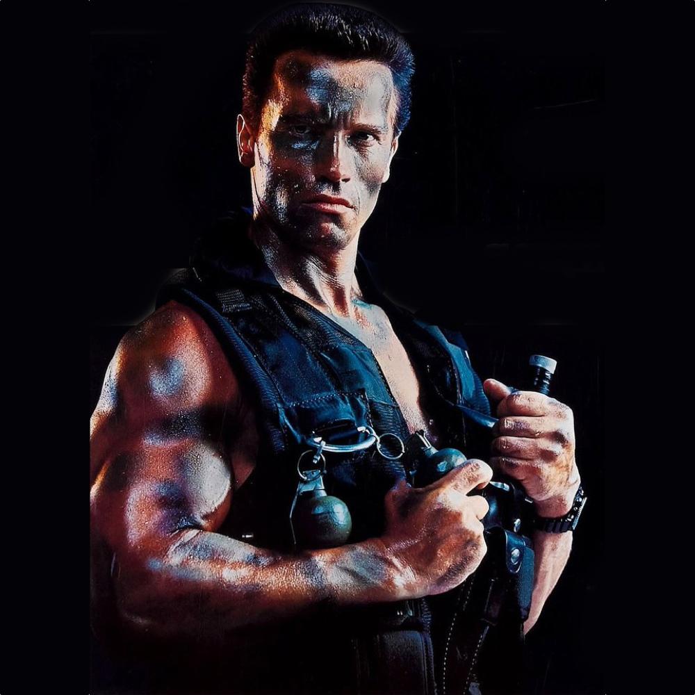 John Matrix Costume - Comando Fancy Dress - John Matrix Ranger Vest