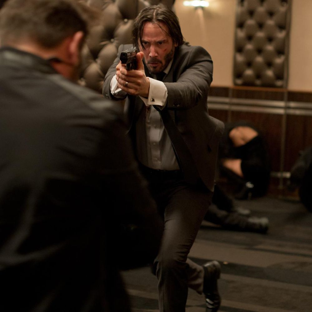 John Wick Costume - John Wick Fancy Dress - John Wick Gun