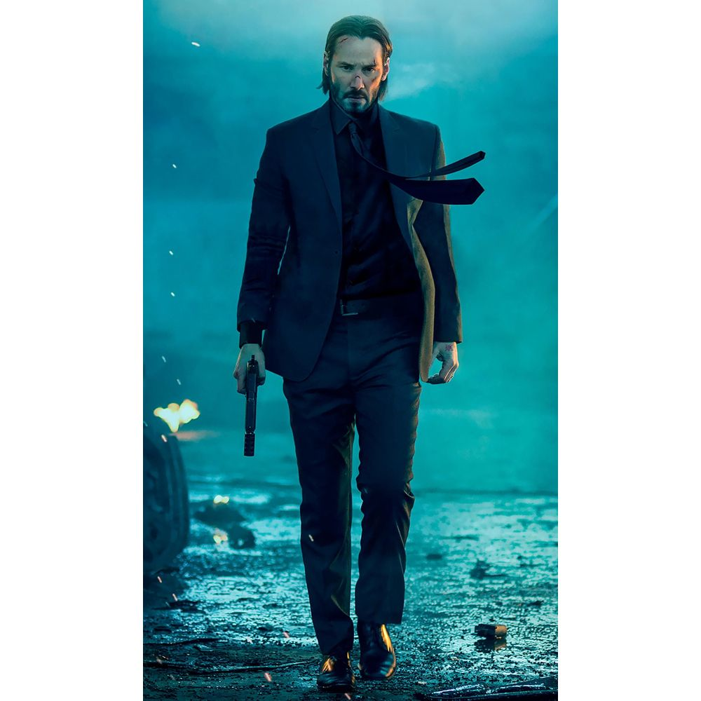 John Wick Costume - John Wick Fancy Dress - John Wick Suit
