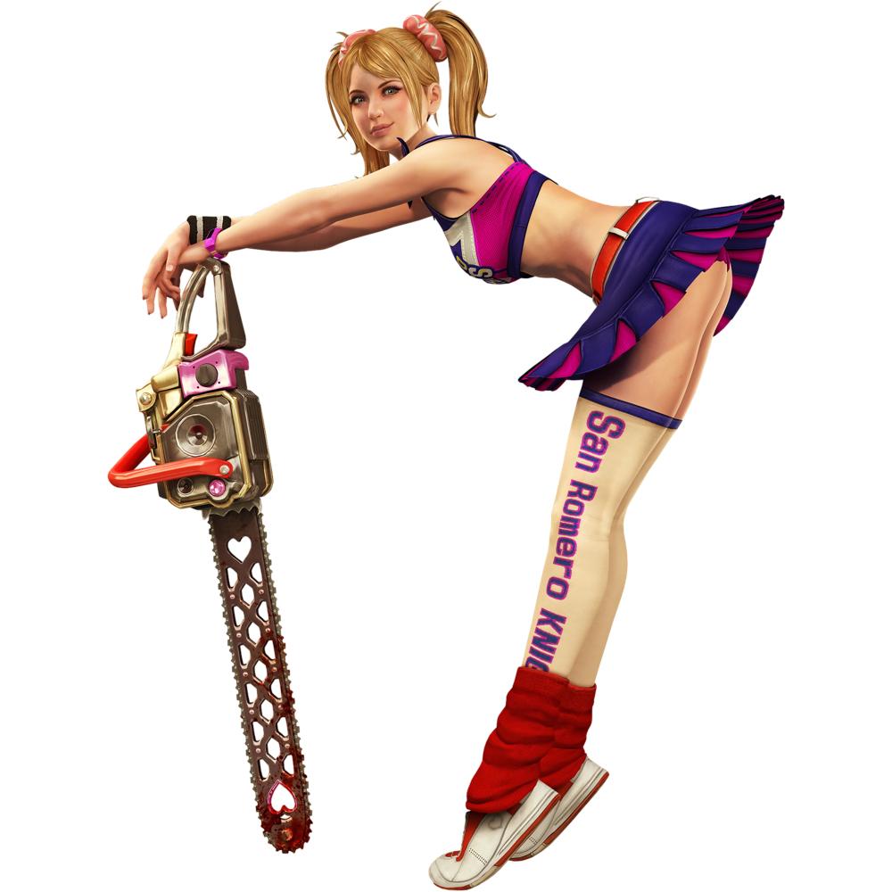 Juliet Starling Costume - Lollipop Chainsaw Fancy Dress - Juliet Starling Chainsaw
