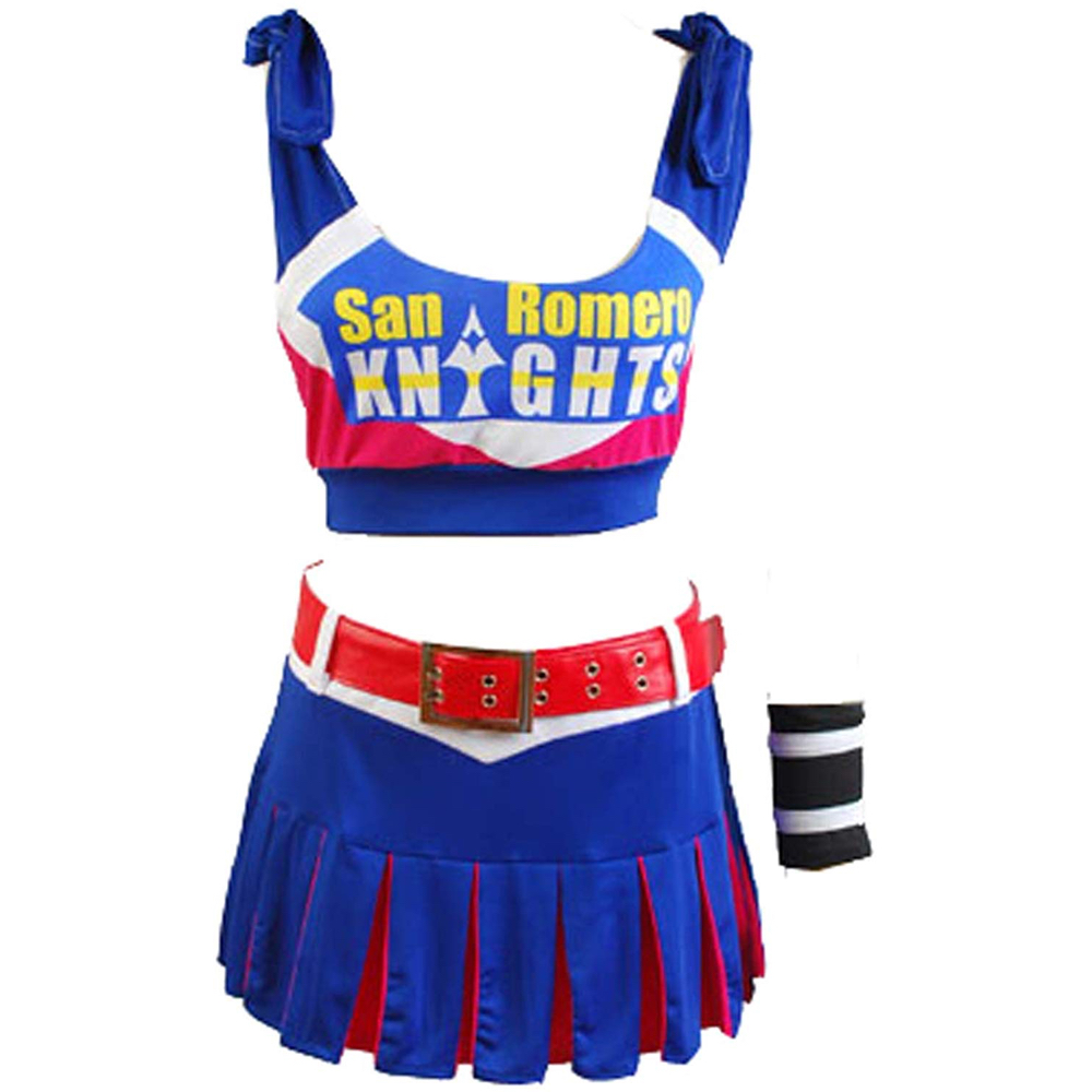 Juliet Starling Costume - Lollipop Chainsaw Fancy Dress - Juliet Starling Complete Costume