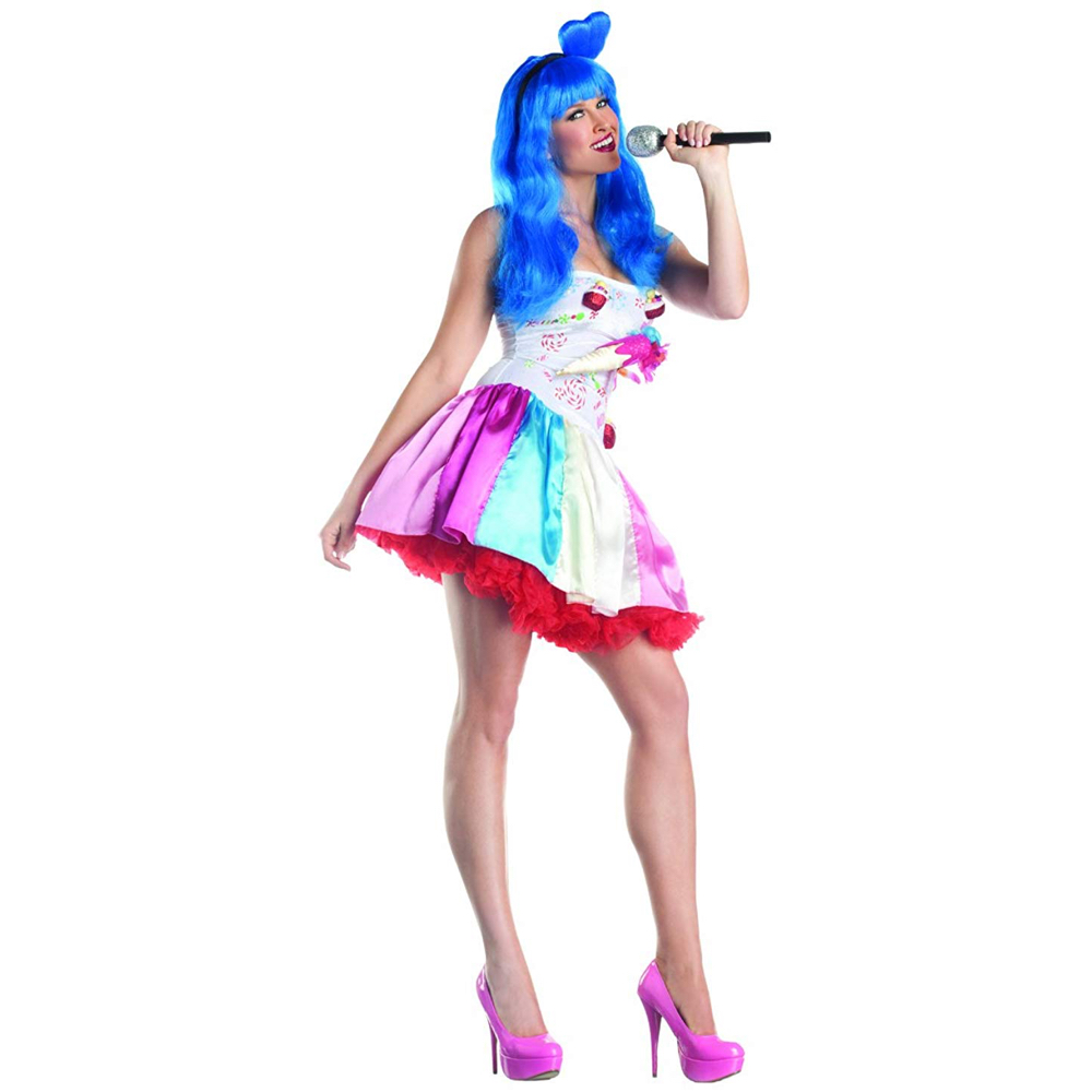 Katy Perry California Gurls Costume - Katy Perry Fancy Dress - Katy Perry Dress