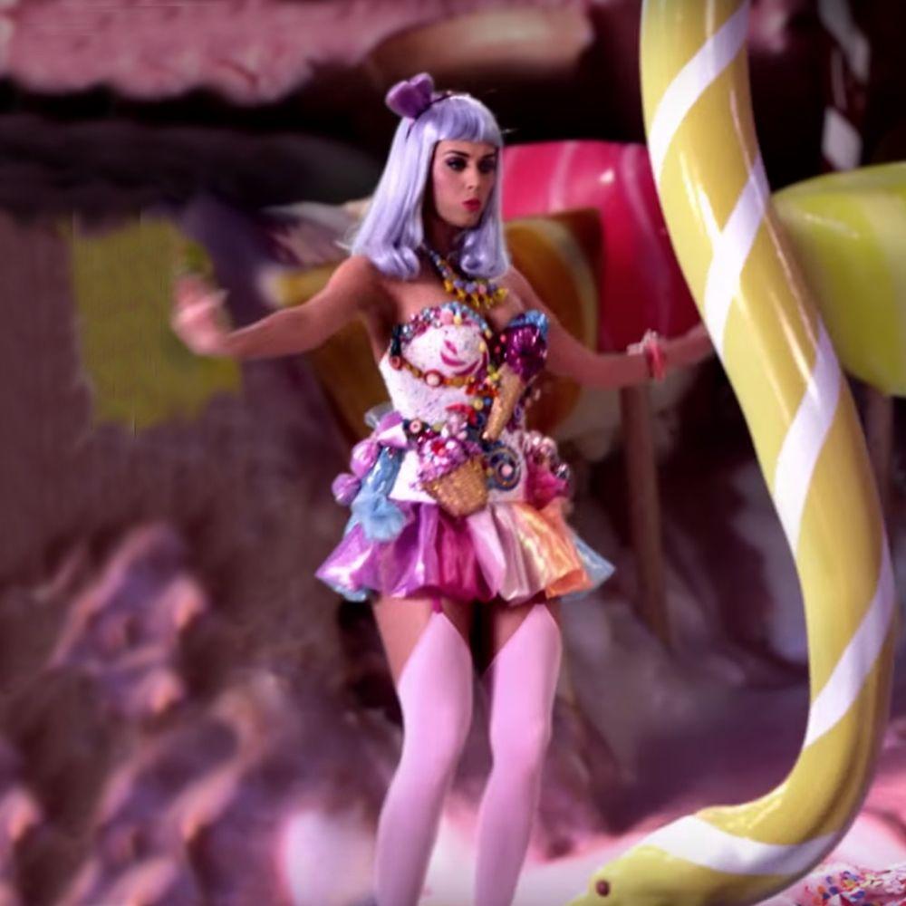 Katy Perry California Gurls Costume - Katy Perry Fancy Dress - Katy Perry Garter Belt