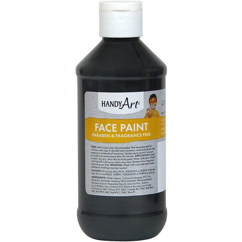 Lipstick-Face Demon Costume - Insidious Fancy Dress - Lipstick-Face Demon Black Face Paint