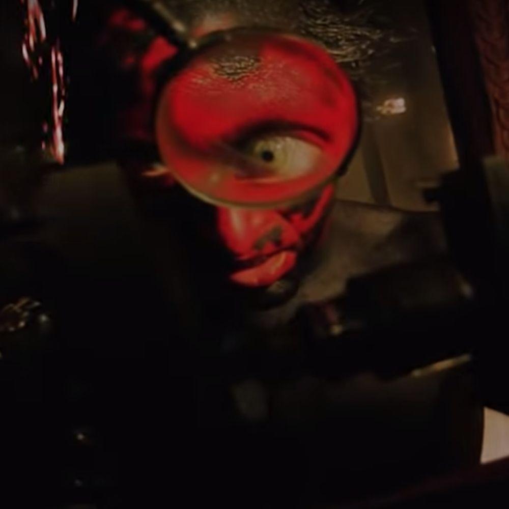 Lipstick-Face Demon Costume - Insidious Fancy Dress - Lipstick-Face Demon Contact Lenses