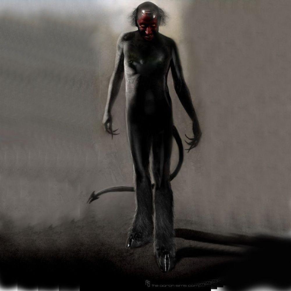 Lipstick-Face Demon Costume - Insidious Fancy Dress - Lipstick-Face Demon Jumpsuit