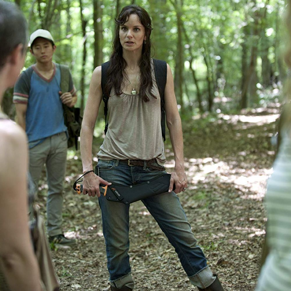 Lori Grimes Boots - The Walking Dead Fancy Dress - Lori Grimes Tank Top