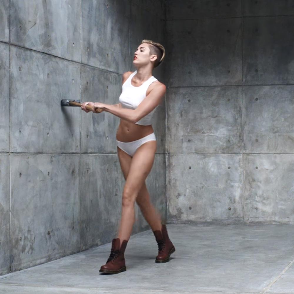 Miley Cyrus Fancy Dress - Miley Cyrus Wrecking Ball Costume - Miley Cyrus Wrecking Ball Boots