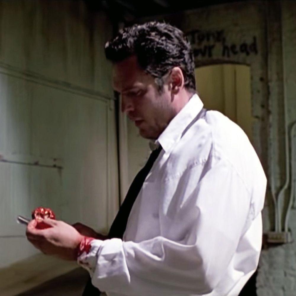 Mr Blonde Costume - Reservoir Dogs Fancy Dress - Mr Blonde Ear
