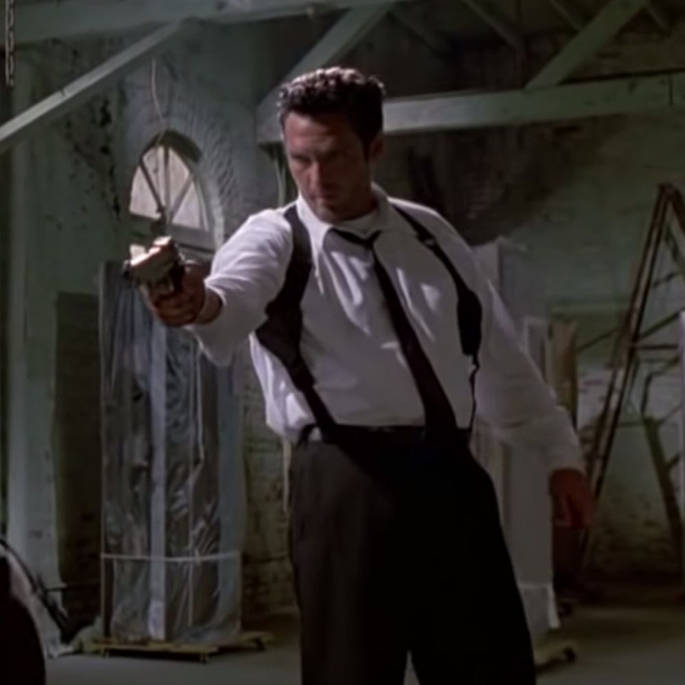 Mr Blonde Costume - Reservoir Dogs Fancy Dress - Mr Blonde Gun