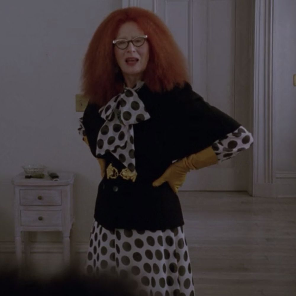 Myrtle Snow Costume - American Horror Story Fancy Dress - Myrtle Snow EyeglassesMyrtle Snow Costume - American Horror Story Fancy Dress - Myrtle Snow Gloves