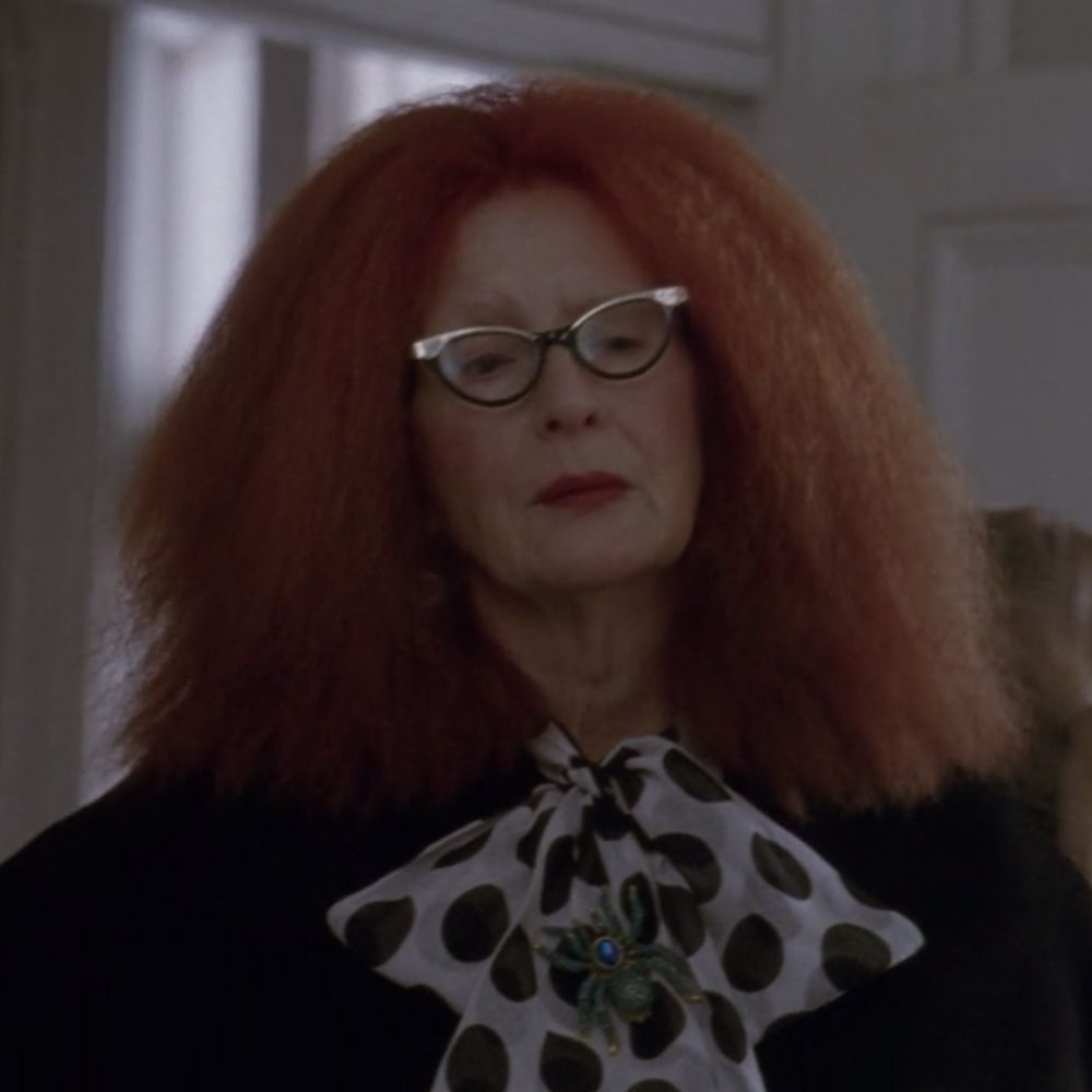 Myrtle Snow Costume - American Horror Story Fancy Dress - Myrtle Snow EyeglassesMyrtle Snow Costume - American Horror Story Fancy Dress - Myrtle Snow Hair Wig