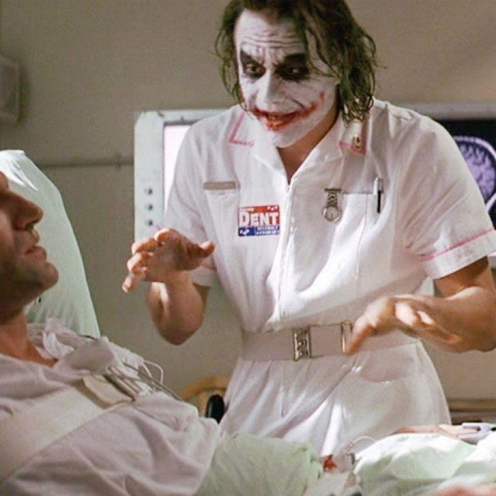 Nurse Joker Costume - Batman Fancy Dress - Nurse Joker Belt