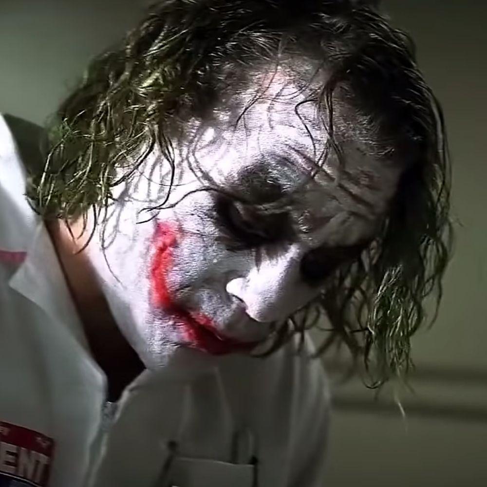 Nurse Joker Costume - Batman Fancy Dress - Nurse Joker Hair Wig
