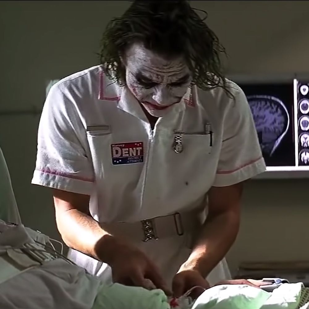 Nurse Joker Costume - Batman Fancy Dress - Nurse Joker Watch