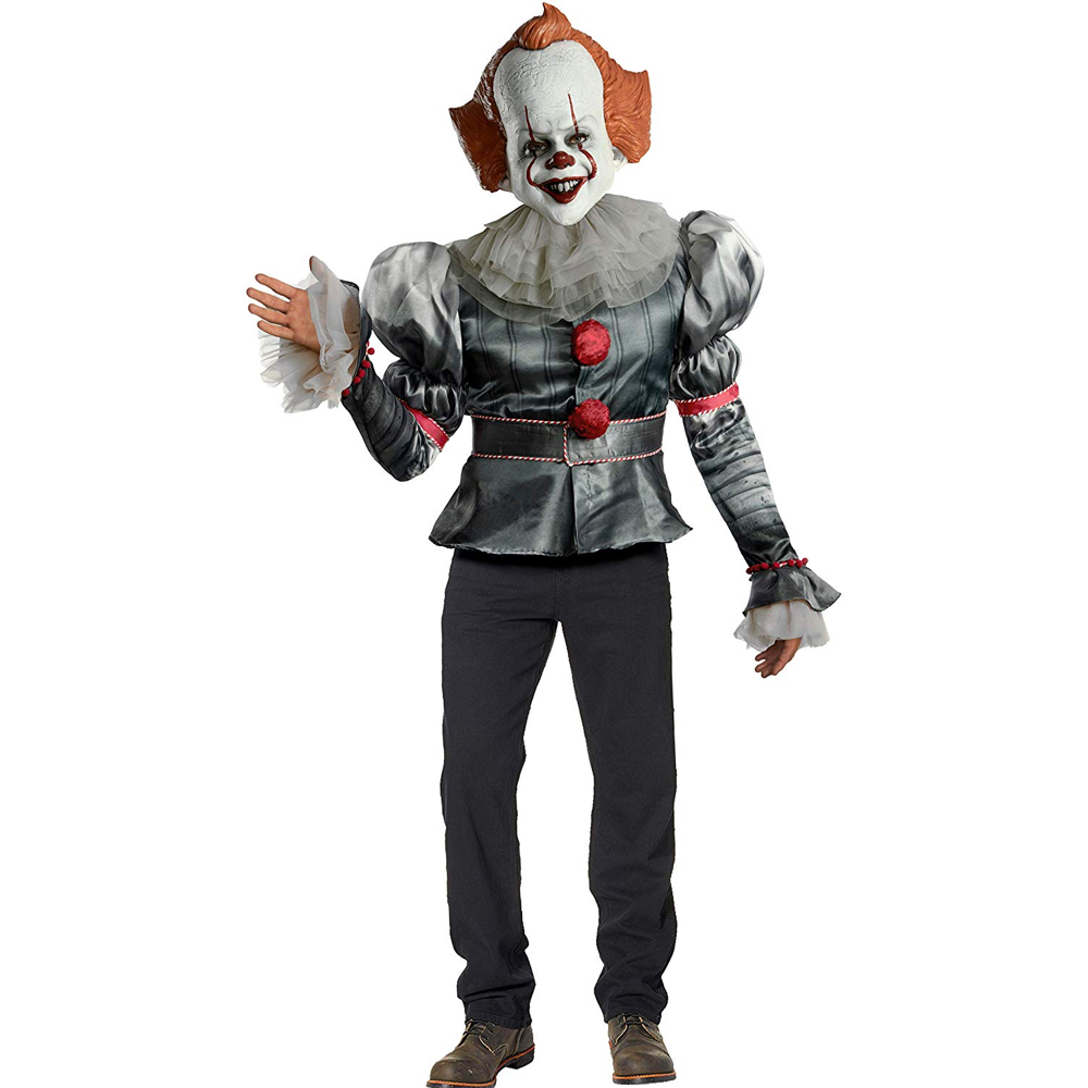 Pennywise Costume - IT Fancy Dress - Pennywise Clown Costume