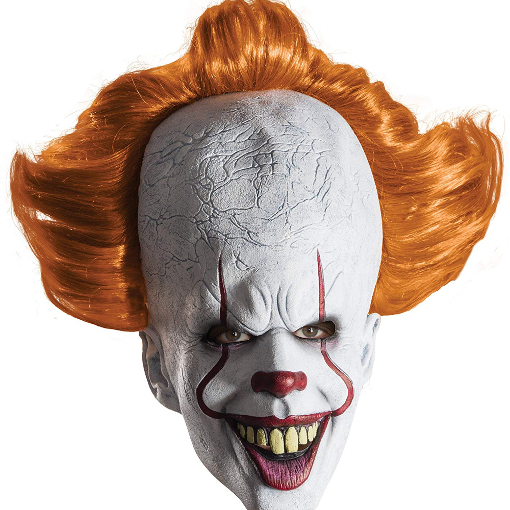 Pennywise Costume - IT Fancy Dress - Pennywise Mask
