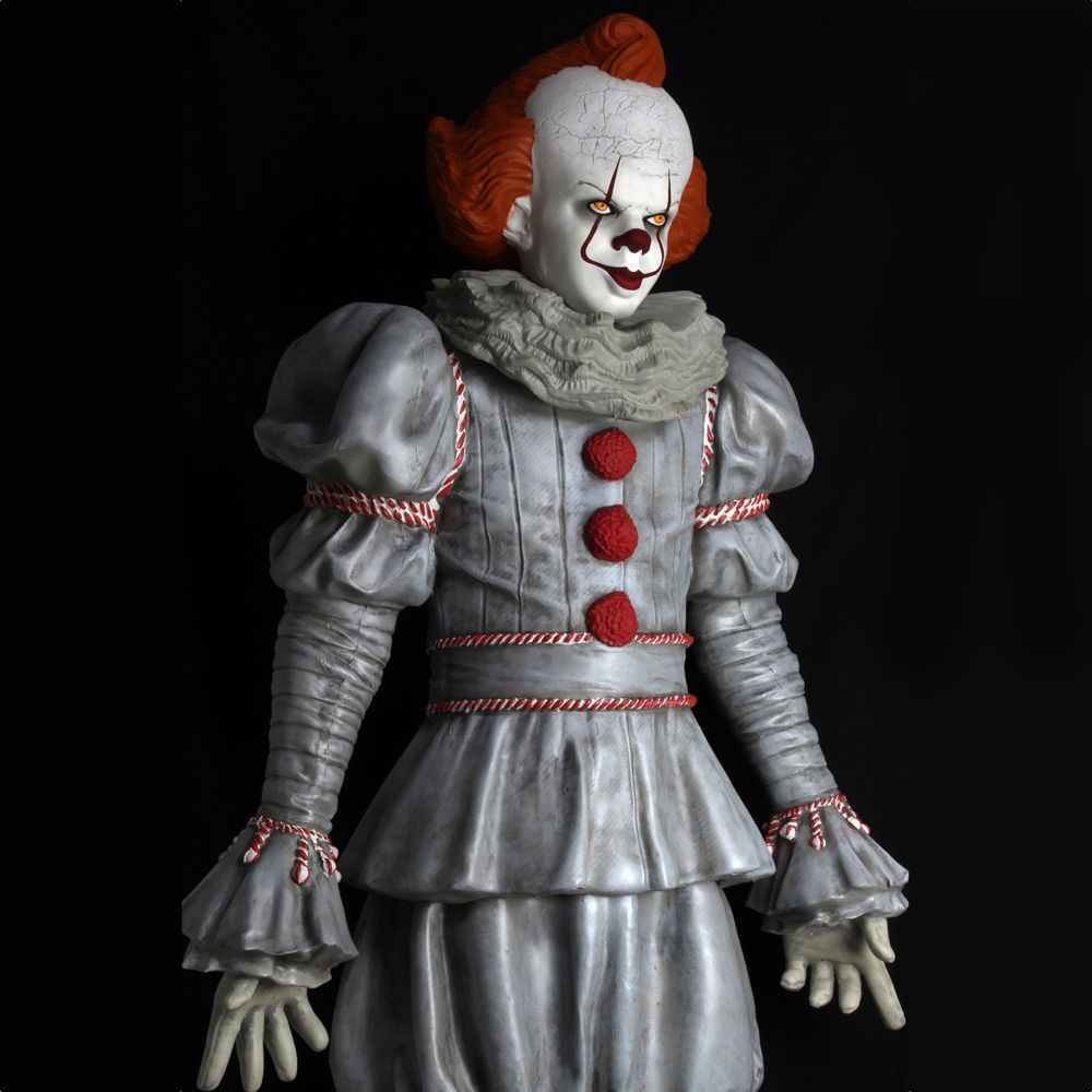 Pennywise Costume - IT Fancy Dress - Pennywise Pom Poms
