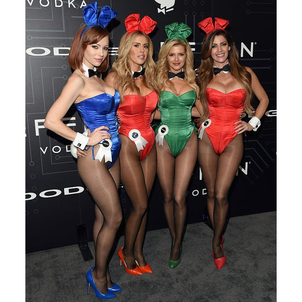 Playboy Bunny Costume - Playboy Fancy Dress - Playboy Complete Costume