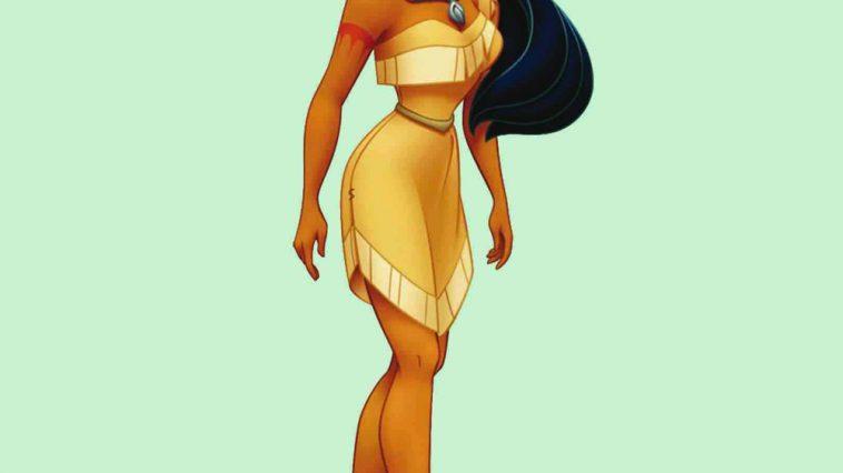 Pocahontas Costume - Pocahontas Fancy Dress - Pocahontas Costume
