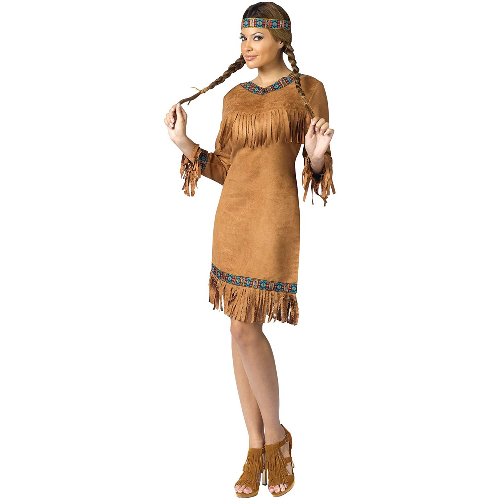 Pocahontas Costume - Pocahontas Fancy Dress - Pocahontas Dress