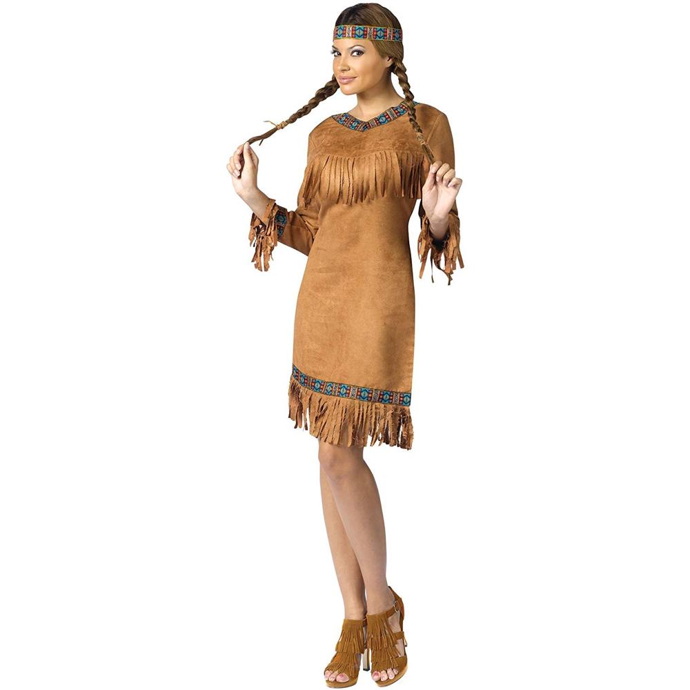 Pocahontas Costume - Pocahontas Fancy Dress - Pocahontas Dress