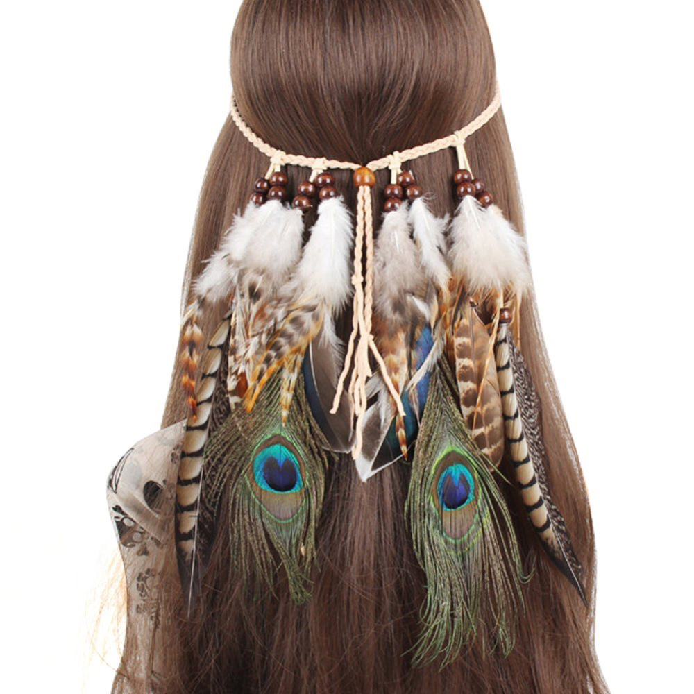 Pocahontas Costume - Pocahontas Fancy Dress - Pocahontas Hair Feather