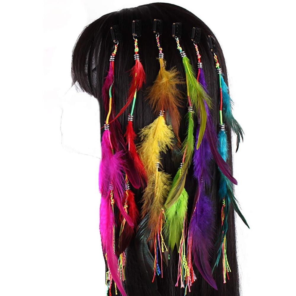 Pocahontas Costume - Pocahontas Fancy Dress - Pocahontas Hair Feather