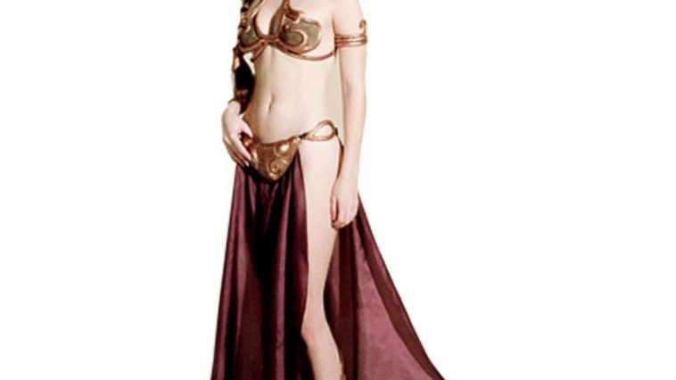 Princess Leia Slave Costume - Star Wars Return of the Jedi Fancy Dress - Princess Leia Slave Cosplay