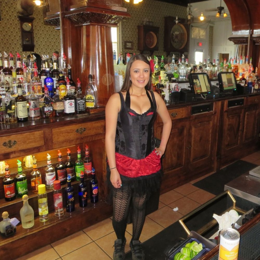 Saloon Girl Costume - Saloon Girl Fancy Dress - Saloon Girl Corset