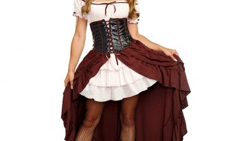 Saloon Girl Costume - Saloon Girl Fancy Dress - Saloon Girl Cosplay