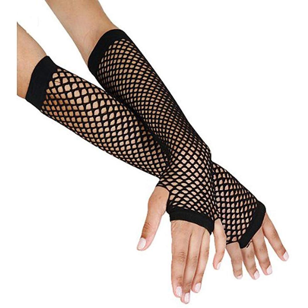 Saloon Girl Costume - Saloon Girl Fancy Dress - Saloon Girl Gloves