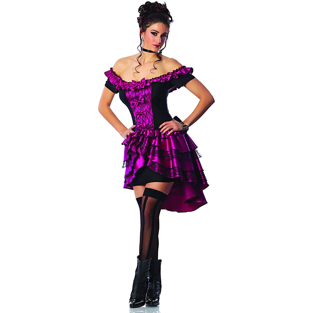 Saloon Girl Costume - Saloon Girl Fancy Dress - Saloon Girl Skirt