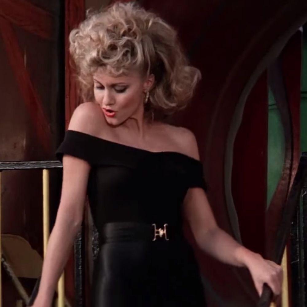 Sandy Olsson Costume - Grease Fancy Dress - Sandy Olsson Belt