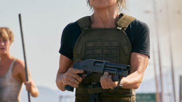 Sarah Connor Costume - Terminator: Dark Fate Fancy Dress - Sarah Connor Cosplay