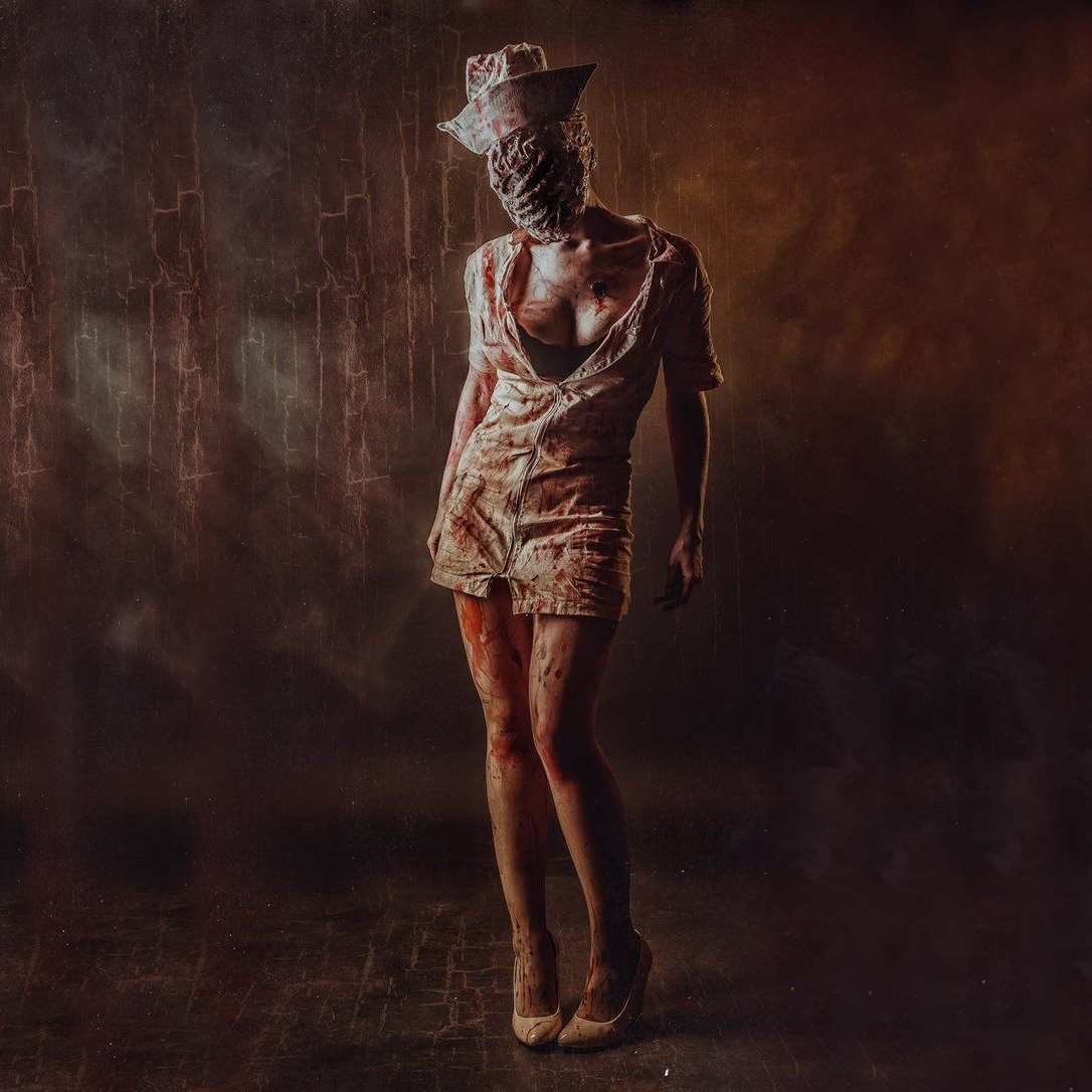 Silent Hill Nurse Costume - Silent Hill Fancy Dress - Silent Hill Complete Costume