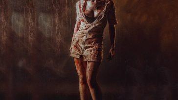 Silent Hill Nurse Costume - Silent Hill Fancy Dress - Silent Hill Cosplay